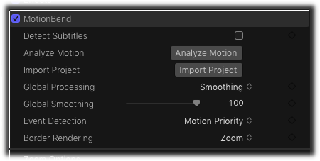 MotionBend Plugin in FCPX