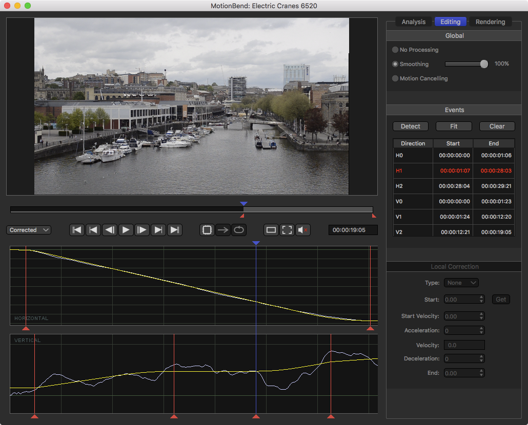 MotionBend Video Stabilizer and Motion Editor - Tiliam Research